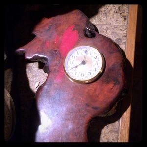 Wooden custom clock